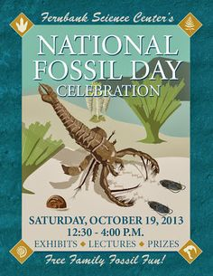 Fernbank Science Center Annual National Fossil Day October 19 #Atlanta