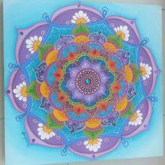 Mandala em tela 60×60 by Soraya Sebolt