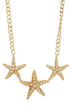 Annabella Starfish Necklace by Big & Bold: Necklace Shop on Starfish Necklace, Gold Necklace, Pumpkin Costume, Casual Chic Style, Material Girls, Diamond Are A Girls Best Friend, Little Star, Cute Jewelry, Jewelery