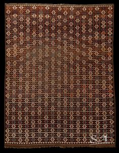^>An Ersari Beshir main carpet, Sud Turkestan or Afghanistan, 2nd half of 19th century, pile, weft and warp in wool, 235 x 185 cm | A highly geometrical design tribal carpet in good condition*
