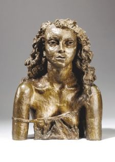 Sir Jacob Epstein, Second Portrait of Deidre (in a slip), Sculpture Head, Modern Sculpture, Lion Sculpture, Pablo Picasso, Safari, Christo And Jeanne Claude, Old Art, Female Portrait, Dark Art