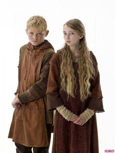 Vikings Bjorn & Gyda -  Nathan O'Toole & Ruby O'Leary