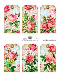 ROSE GARDEN  digital collage sheet. Printable by KatarinArt, $4.80  https://www.etsy.com/listing/130670521/rose-garden-digital-collage-sheet?ref=sr_gallery_7&ga_order=date_desc&ga_view_type=gallery&ga_page=7&ga_search_type=all