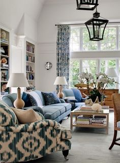 Chubbs Hill living room