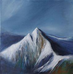 Cir Mhor by Scottish contemporary landscape painter J Mackintosh