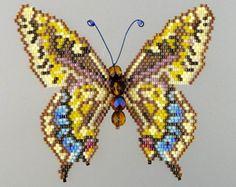 Papillon noir-veiné demi-lune et tutoriel par WizardIslandDesigns