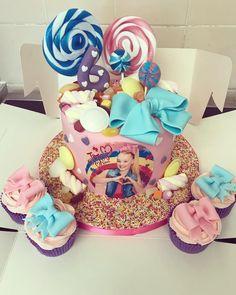 Jojo Siwa birthday party cake ideas.