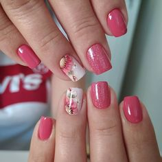 Classy Nails, Stylish Nails, Trendy Nails, Classy Nail Designs, Toe Nail Designs, Bella Nails, Nails Now, Special Nails, Manicure E Pedicure