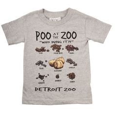 Detroit Zoo poo shirt? $16.99