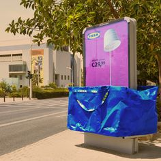Publicidad de exterior de Ikea bit.ly/1jC9ngT