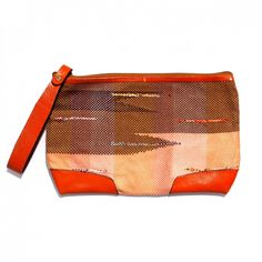 Saori Clutch, Orange - Shoptimize.org