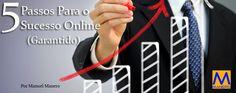 5 Simples passos para montares uma estrutura de sucesso na Internet (Garantido)  Todos nós, em algum momento da nossa vida já pensou em montar, ou aderir, a um negócio online. Aqueles que colocam em prática o pensamento e realizam o sonho, poucos ( cerca de 2% ) são bem sucedidos e conseguem vingar.  Artigo completo aqui: http://badasscontent.com/5-passos-para-sucesso-online