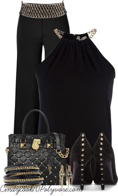 """""""Studs and Chains Contest"""" by cindycook10 ❤ liked on Polyvore"""