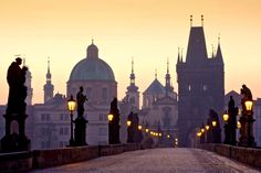 Praga una de las ciudades más hermosas de Europa.
