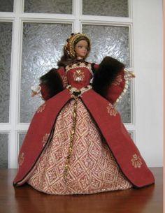 16th Century Tudor Barbie Doll