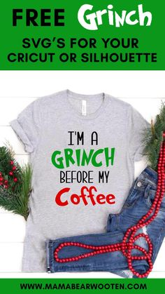 All Christmas Movies, Christmas Quotes, Christmas Svg, Diy Christmas Gifts, Grinch Svg Free, Grinch Cricut, Grinch Face Svg, Dr. Seuss, Silhouette America