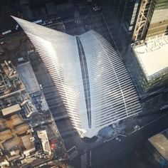 The Oculus from above... over 100 stories above... @theaspiringarch