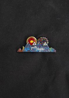 Pretty Lights  Radiant Rockies  Hat Pin  by FigmentalCreations, $16.00