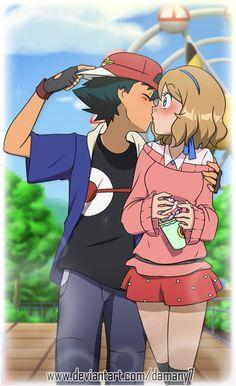 860 Amourshipping Ideas In 2021 Pokemon Ash And Serena Pokemon Pokemon Ships