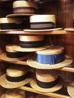 straw boaters // ใครรู้มั่ง หมวกแบบนี้ หาซื้อได้ที่ไหน?
