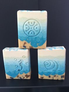 A day at the seaside - CP soap