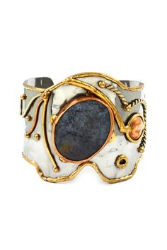 Delphine Statement Cuff on Emma Stine Limited