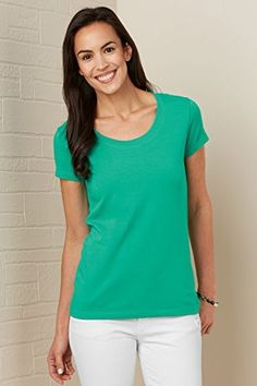 Fair Indigo Scoop Neck Organic Fair Trade T-shirt  Price : $32.90 http://www.fairindigo.com/Fair-Indigo-Scoop-Organic-T-shirt/dp/B00EAFBUXW