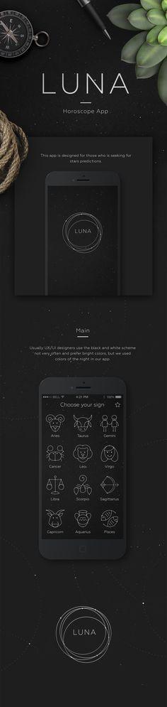 Horoscope iOS App on Behance