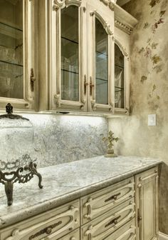 Decorative & Faux Finishes » Cabinets and Such Chalk painted cabinets