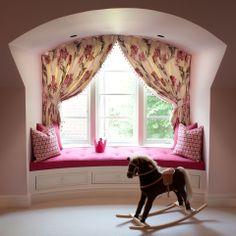 CEBULA DESIGN: Girl's Bedroom in Marshall, VA #cebuladesign #interiordesign #girlsbedroom