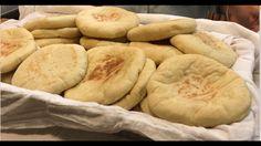 Israeli Pita - How to Make Homemade Pita Bread using a Pan