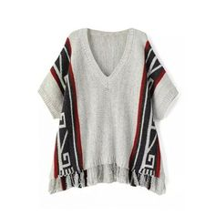 Nazca Short Batwing Sleeve Pullover ($5) ❤ liked on Polyvore featuring tops, batwing sleeve tops, short tops, sweater pullover, bat sleeve tops and pullover tops