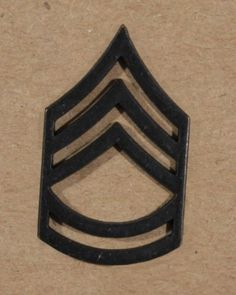 Sergeant-First-ClassRank-Insignia-1-Pin-US-Army-E7-Subdued-Metal-Black-Chevrons