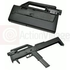 Magpul FPG-2 Folding gun.  Uses a Glock 18 as core.