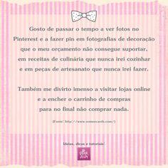Pink & Fun: Pensamento do Dia