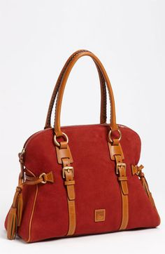 I love this bag! Just can't decide which color I like best. Dooney & Bourke 'Domed Buckle' Satchel available at #Nordstrom