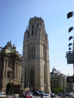 Bristol University tower