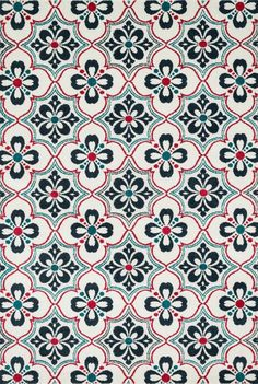 Buy the Loloi Rugs 2 x 4 Direct. Shop for the Loloi Rugs 2 x 4 Indoor / Outdoor Power Loomed Polypropylene Area Rug and save. Textile Patterns, Textile Prints, Print Patterns, Textile Design, Decoupage Vintage, Wallpapers Texture, Surface Pattern Design, Pattern Art, Outdoor Rugs
