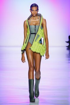 See the complete Chromat Fall 2017 Ready-to-Wear collection  swimwear for fall?? so rebellious