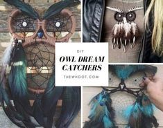 Owl Dream Catcher Video Tutorial | The WHOot
