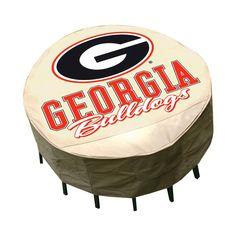 NCAA Mr. Bar-B-Q University of Georgia Bulldogs Round Table Cover