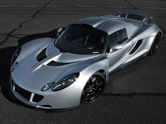 Hennessey Venom GT one of the Worlds fastest production car 270.49 mph ... Who needs that stupid bullet train in California when you can get there faster in this fine beast? - LP -