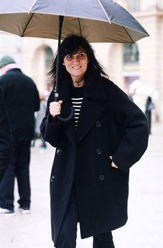 Emmanuelle Alt At Paris FashionWeek - Journal - I Want To Be An Alt