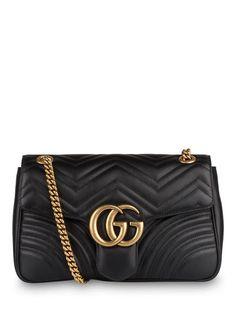 6a002b5b13 GUCCI - Schultertasche GG MARMONT Gucci