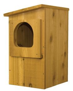 Select Cedar Barred Owl Nest Box