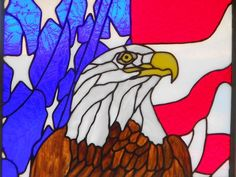 Eagle and Flag by ItsJustMe. From Delphi's Artist Gallery