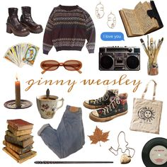Ginny Weasley, Cute Comfy Outfits, Cool, Will Smith, Casual Wear, Thrifting, Harry Potter, Dress Up, Money