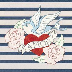 Amor Lámina giclée por Tom Frazier en AllPosters.com.ar.