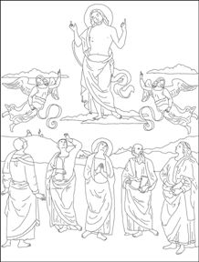 Lots of Catholic coloring pages.