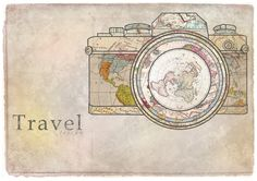Travel by Taszyn Bailey, via Behance - makes me think of @Katie Boothe <3